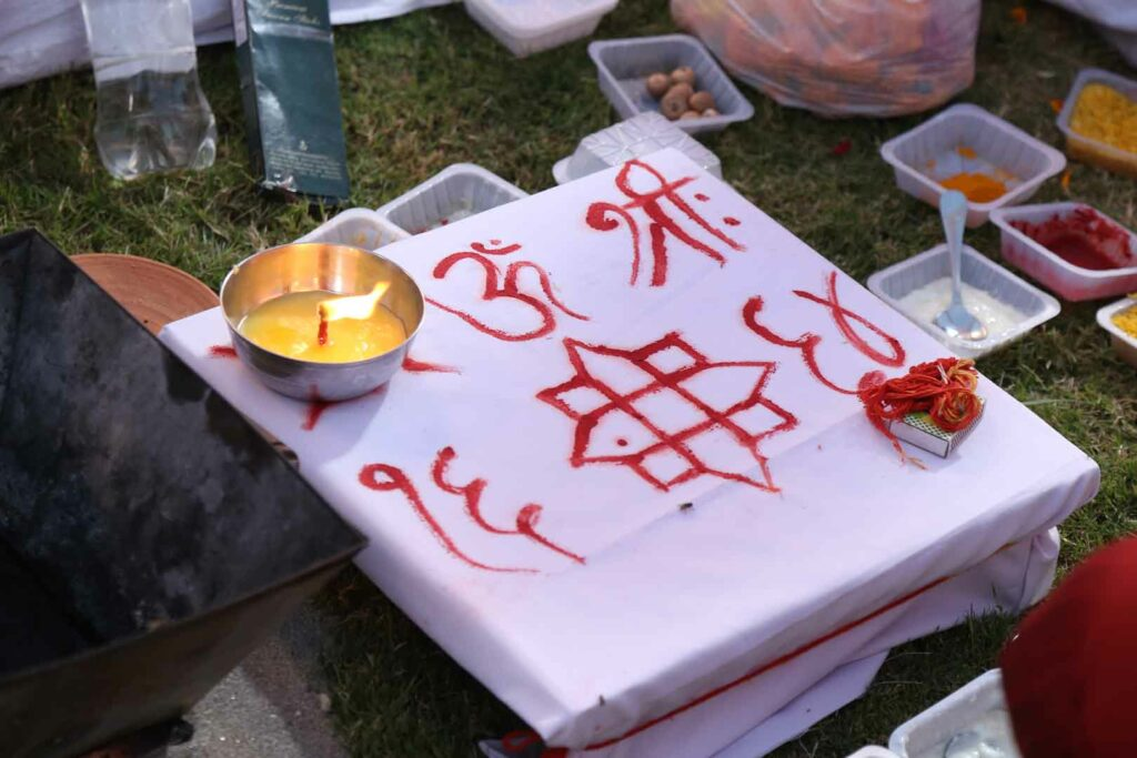 Vedic Fire ritual, Vedas, Wedding