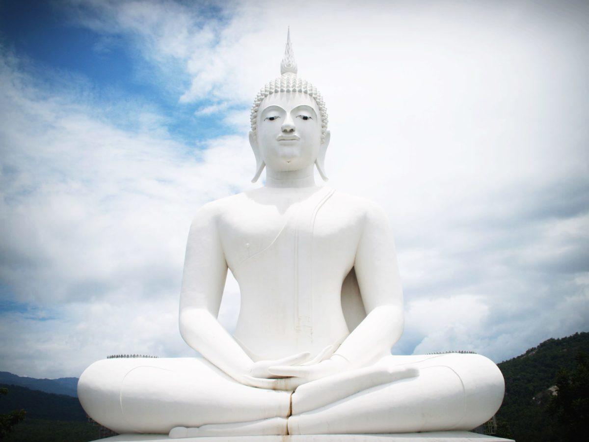 Buddha-straight spine-nadi
