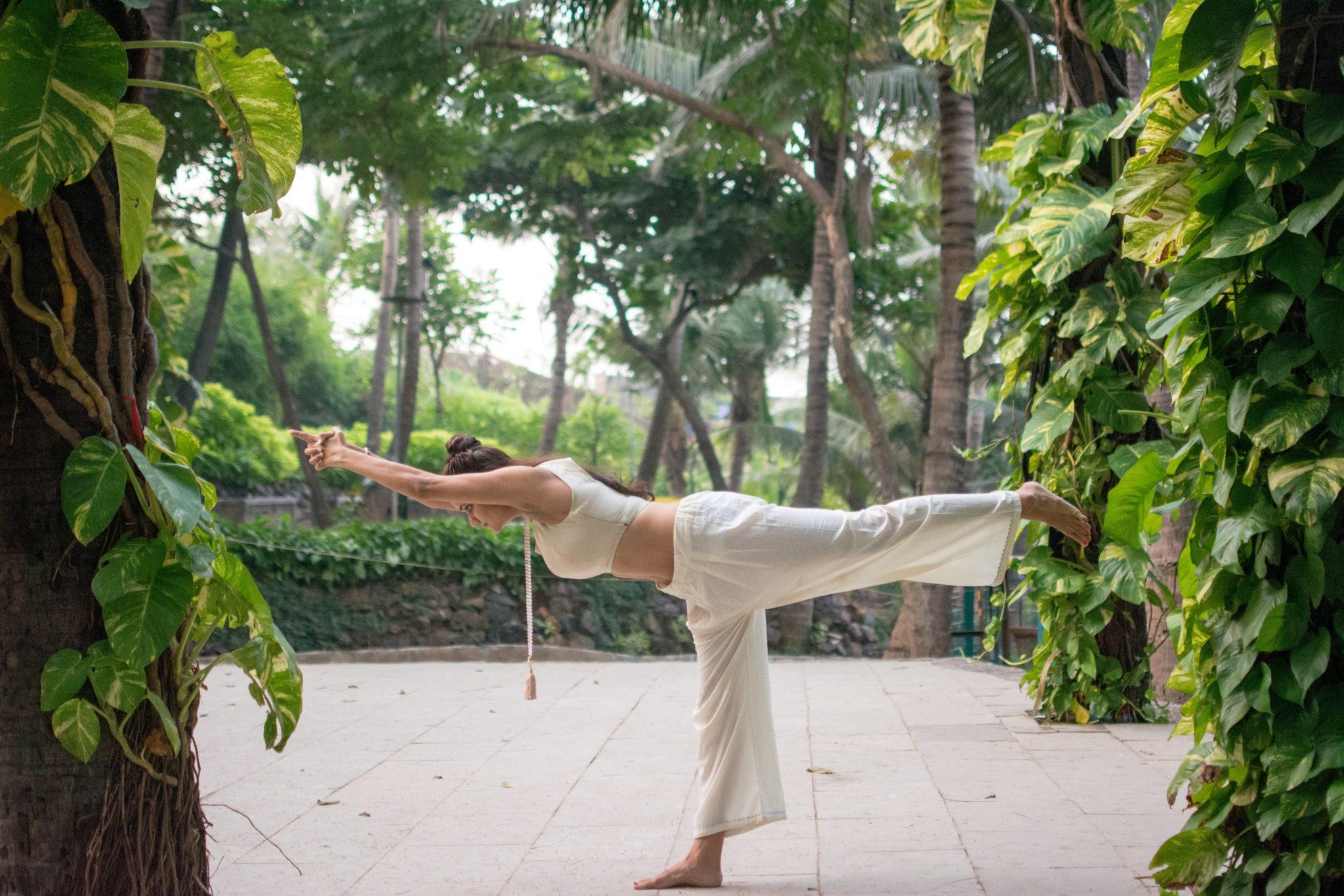 Warrior Pose, Virabhadrasana