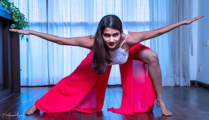 Goddess Pose, Yoganama, Namita Chandra